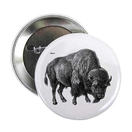 "Bison 2.25"" Button (10 pack)"