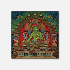 "The Green Tara Square Sticker 3"" x 3"""