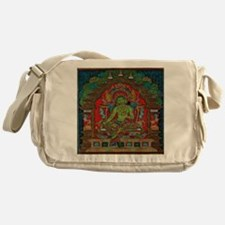 The Green Tara Messenger Bag