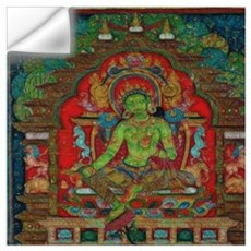 The Green Tara Wall Decal