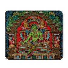 The Green Tara Mousepad