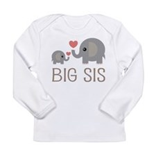 Cute Matching with Long Sleeve Infant T-Shirt