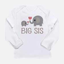 Cute Big sister Long Sleeve Infant T-Shirt