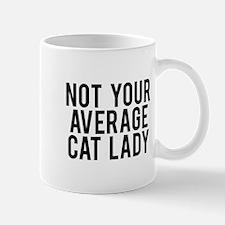 Not your average cat lady Mug