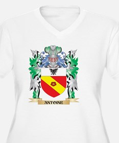 Antoine Coat of Arms - Family Cr Plus Size T-Shirt