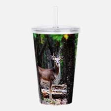 Young Buck Acrylic Double-wall Tumbler
