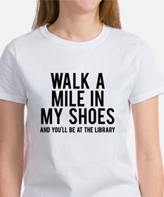 walk a mile in my Tee