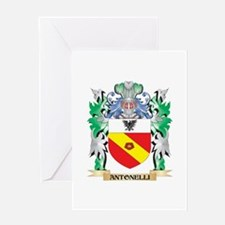 Antonelli Coat of Arms - Family Cre Greeting Cards