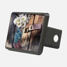 rustic western country cow Hitch Cover