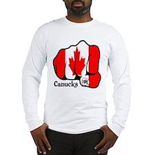 Canada Fist 1965 Long Sleeve T-Shirt