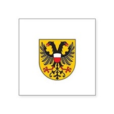 "Unique German pride Square Sticker 3"" x 3"""