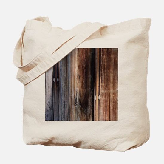 western country barn board Tote Bag