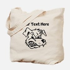 Mean Dog Tote Bag