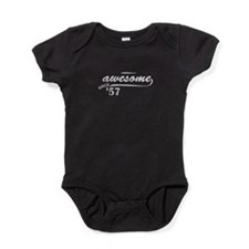 Awesome Since 1957 Baby Bodysuit