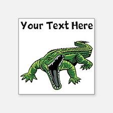 Mean Alligator Sticker
