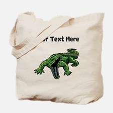 Mean Alligator Tote Bag