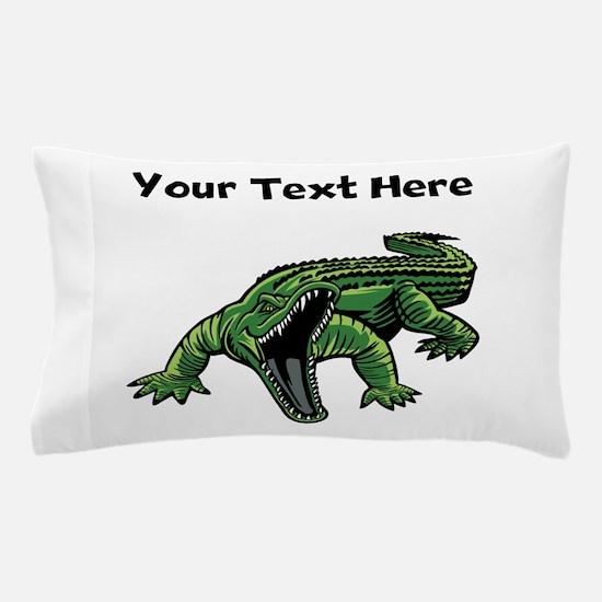 Mean Alligator Pillow Case