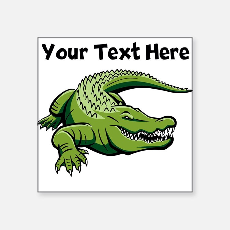 Alligator Stickers Alligator Sticker Designs Label
