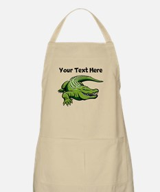 Green Alligator Apron
