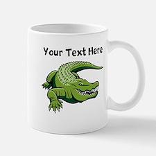 Green Alligator Mugs