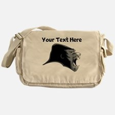 Gorilla Head Messenger Bag