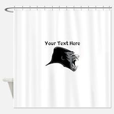 Gorilla Head Shower Curtain