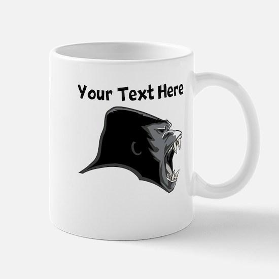 Gorilla Head Mugs
