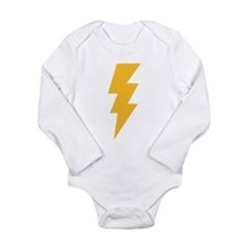 Cute Bolt Long Sleeve Infant Bodysuit