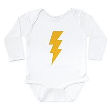Cute Lightning Long Sleeve Infant Bodysuit