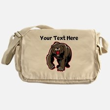 Grizzly Bear Messenger Bag