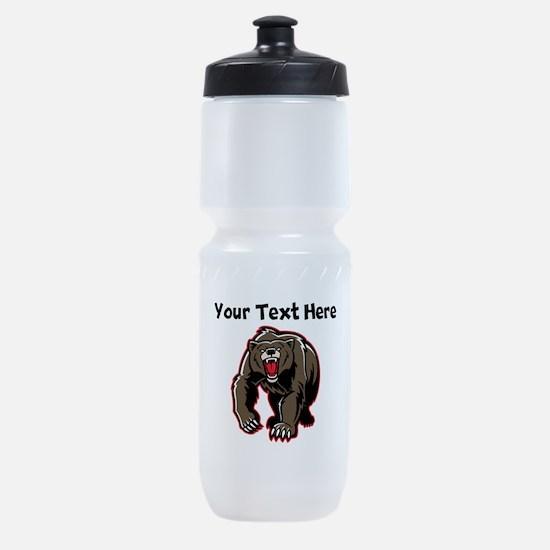 Grizzly Bear Sports Bottle