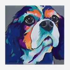 Millie the Cavalier King Charles Span Tile Coaster