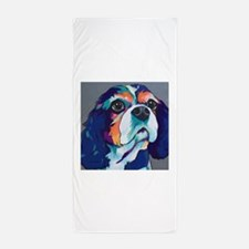 Millie the Cavalier King Charles Spani Beach Towel