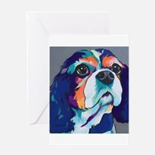 Millie the Cavalier King Charles Sp Greeting Cards