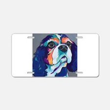 Millie the Cavalier King Ch Aluminum License Plate