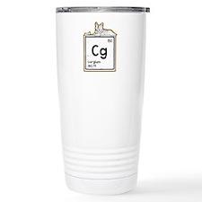 Cardigan welsh corgi cartoon Travel Mug