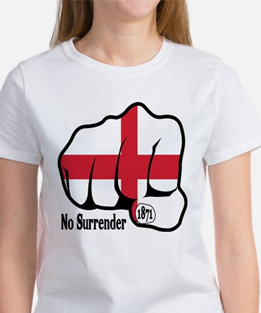England Fist 1871 Women's T-Shirt