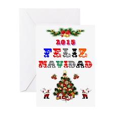 2015 FELIZ NAVIDAD Greeting Cards
