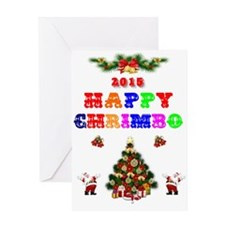 XMAS 2015 HAPPY CHRIMBO Greeting Cards