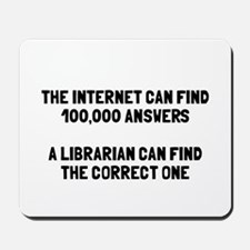 Librarian correct answer Mousepad