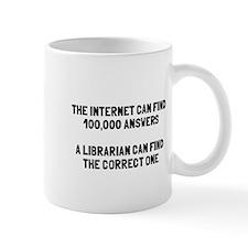 Librarian correct answer Mug