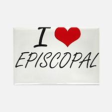 I love EPISCOPAL Magnets