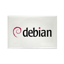 Debian Rectangle Magnet (10 pack)