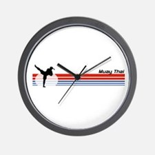 Muay Thai Wall Clock