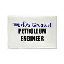 Worlds Greatest PETROLEUM ENGINEER Rectangle Magne