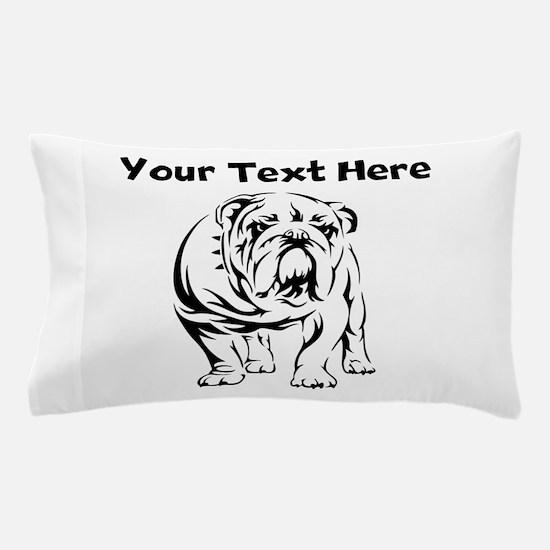 Bulldog Pillow Case