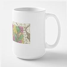 Vintage Map of Maryland (1827) Mugs
