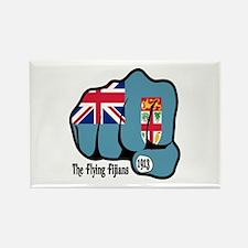 Fijian Fist 1913 Rectangle Magnet