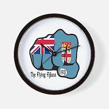 Fijian Fist 1913 Wall Clock