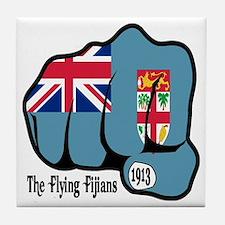 Fijian Fist 1913 Tile Coaster